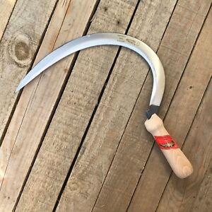 Ralph Martindale Chillington 406mm Large Hand Sickle - Grass Cutter, Garden Tool