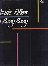 the celibate rifles kiss kiss bang bang lp w/press info