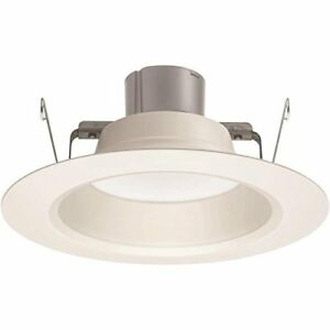 """Juno 2-Pack 65W 5"""" or 6"""" White Dimmable LED Recessed Retrofit Downlight NEW"""