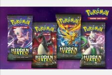 4x Pokemon Card Hidden Fates Sealed Booster Packs, Brand New and Genuine Mint