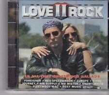 (GA482) Love II Rock, 18 All-Time Great Rock Ballads - 1994 CD