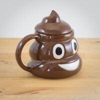 Novelty Emoticon Mug Poo Emoji Shaped Tea Coffee Drinking Cup