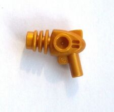 Lego 10x pearl gold Ray Gun Pistole Waffe Weapon Blaster Neu