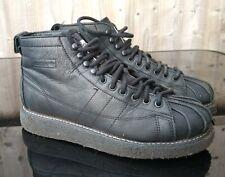 Adidas Originales Superstar Negro Cuero Botas Luxe W Mujer Reino Unido 4.5 AQ1250