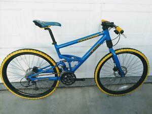**MINT**Volvo Cannondale Jekyll- Full Suspension Mountain Bike- Size Medium