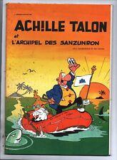 Achille Talon et l'archipel des sanzunron. Portfolio publicitaire 1980. Rosseurs