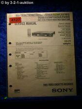 Sony Service Manual SLV E820VC /E920VC /E820UX /E920UX Video (#4127)
