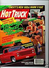 Hot Truck Oct 1990 Vol.1 #3 affordable street power