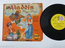 childrens 78rpm ALADDIN & HIS MAGIC LAMP norman rose CRICKET RECORDS C5
