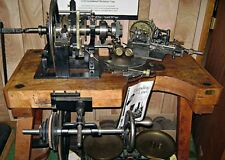 Antique RA Lienhard Chaux-De-Fonds Engine Turning / Brocading Machine Circa 1904