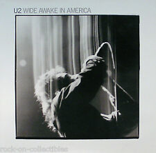 U2 1985 Original Wide Awake In America Promo Poster Original