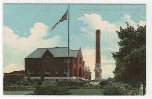 Pumping Station Water Works St Louis Missouri 1910c postcard