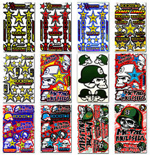 Metal Mulisha Rockstar Energy Sticker Graphic Kits Bike BMX ATV Helmet Decals