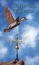 Whitehall Duck Classic Large Weathervane Copper & Brass Full-Bodied Ships FAST