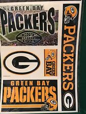 "NFL Green Bay Packers 11""X17"" Sheet of  Multi Decals"