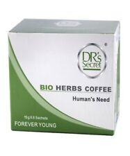 DR's Secret Forever Young Bio Herbs Coffee Stimulant pour Hommes (Pack de 6 Sachets)