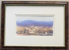 Doug Sealy(1937~)~well listed artist~original watercolour~Hills of Ilford~90s