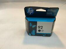 HP 92 BLACK INK CARTRIDGE FACTORY SEALED BOX/ GENUINE