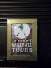GEMACO Jay Buckley's Baseball Tours playing cards New