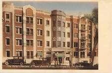Los Angeles California Hotel Chelsea Street View Antique Postcard K54513