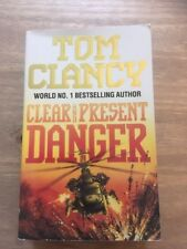 Clear and Present Danger by Tom Clancy (Paperback, 1989)