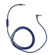 Blue Audio Cable for Beats by Dr Dre Solo3 Headphones w Volume Mic Lead