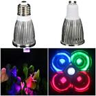E27/GU10 5W LED Plants Grow Light Lamp Spotlight Bulb Hydroponics 220V UE Great
