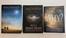 Adam Hamilton Bible Study Participant Books Faithful Why? Not a Silent Night
