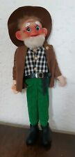 Vintage Christmas Sheriff Doll Decoration Ornament Japan