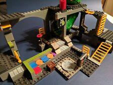 Mega Bloks Teenage Mutant Ninja Turtles Sewer Lair Set- Incomplete Set