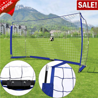 Soccer Goal 12ftx6ft Portable Bow Style Net Perfect For Soccer Size Durable LOT