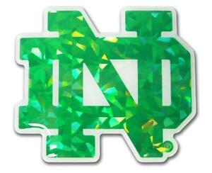 Notre Dame Fighting Irish Reflective Domed Auto Decal [NEW] Emblem Car Sticker