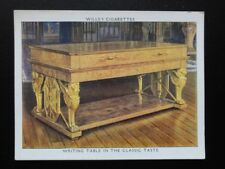 No.20 WRITING TABLE IN CLASSIC TASTE The King's Art Treasures W.D.& H.O.Wills