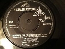 THEME FROM FILM THE LEGION'S LAST PATROL . KEN THORNE AND ORCHESTRA .  1963
