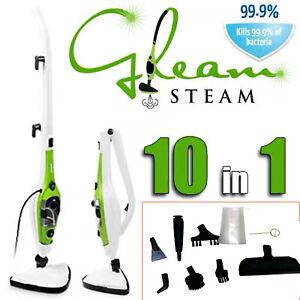 New Professional Steam Cleaner 10-in-1 Multifunction HandHeld Floor Mop Steamer