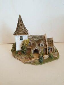 "Lilliput Lane ""Greenstead Church "" Mint,  Boxed + Deeds   (no 295)"