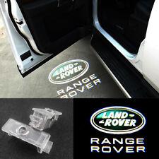 2X LED Logo door courtesy projector light For LAND ROVER Range Rover Sport LR2/4