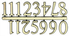 NEW Classic Gold Clock Numerals -Numbers-DIY- Choose 5 Sizes! Stick On 1-12