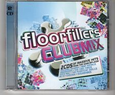 (HK46) Floorfillers, Clubmix, 40 tracks various artists - 2008 double CD