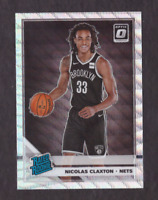 2019/20 Donruss Optic NIC CLAXTON Silver Wave Holo Prizm Mint RC Fanatics Nets