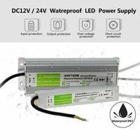 Power Supply IP67 Waterproof Adapter DC 12V/ 24V LED Driver Lighting Transformer