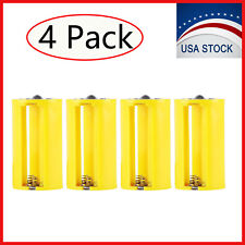 3AA to 1D Parallel Adapter Battery Holder Case Box Converter 3 AA to D Size