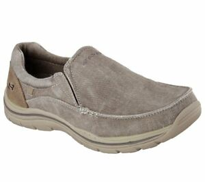 Men's Skechers Relaxed Fit: Expected Avillo Loafer Shoes, 64109 /KHK Sizes 8-14