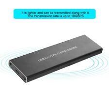 M.2 Festplatte Gehäuse USB3.1 Typ-c zu NVME SSD Adapter Externes SSD Gehäuse GH~