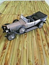 Franklin Mint Rolls Royce9 1925 Silver Ghost 1:24 Scale Die Cast