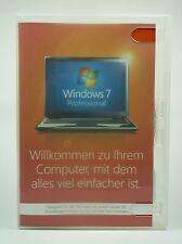 Microsoft Windows 7 Professional Pro 32 Bit Vollversion Deutsch FQC-00734