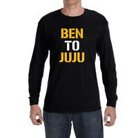 33cf8a3e Pittsburgh Steelers Ben Roethlisberger To Juju Smith Schuster Long sleeve  shirt