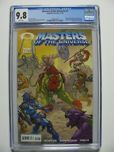 Masters of The Universe #1 - CGC 9.8 - Cover A - INVINCIBLE PREVIEW- White Pages
