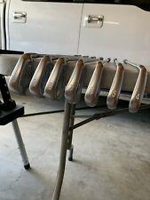 Mizuno JPX 900 Forged Iron Set 4-PW GREAT CONDITION KBS C-Taper 120 STIFF
