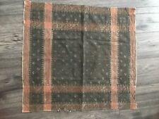 Semawa Aristocrat's Cloth , Gray brown gold, woven. Antique